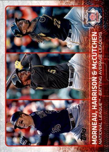 Photo of 2015 Topps #127 Andrew McCutchen/Justin Morneau/Josh Harrison LL