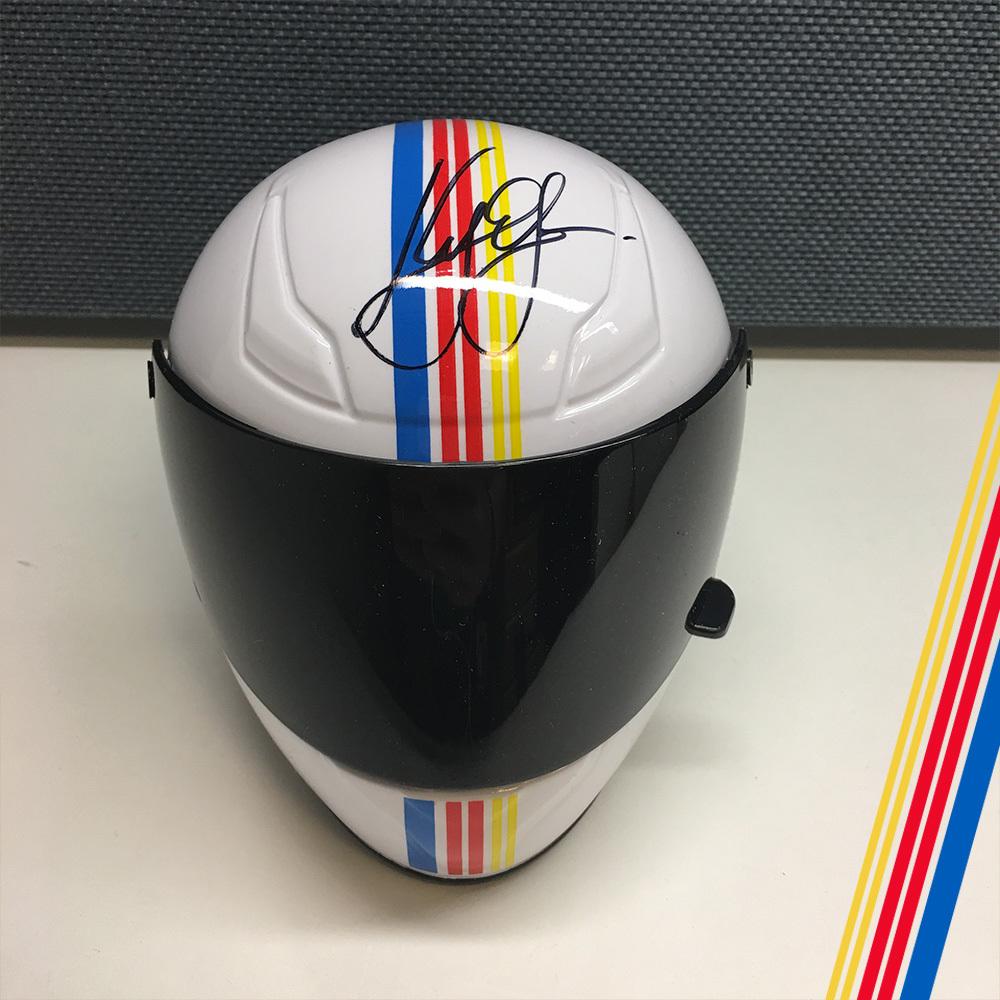 NASCAR's Kyle Larson Autographed mini helmet!