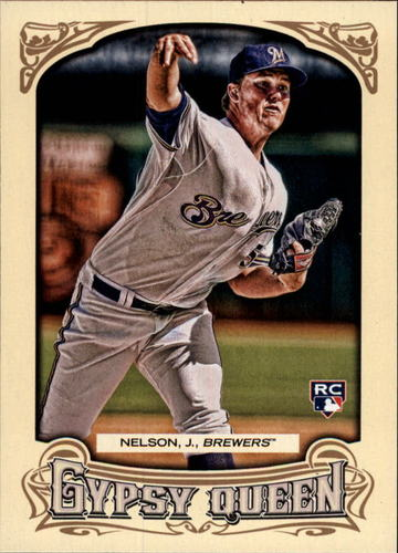 Photo of 2014 Topps Gypsy Queen #296 Jimmy Nelson RC