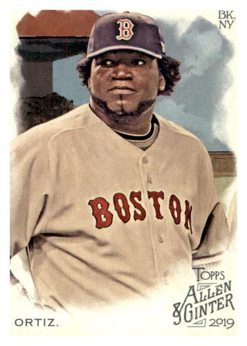 Photo of 2019 Topps Allen and Ginter #132 David Ortiz