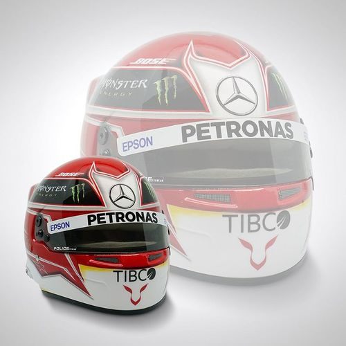 Photo of Lewis Hamilton 2019 1:2 Scale Replica Helmet