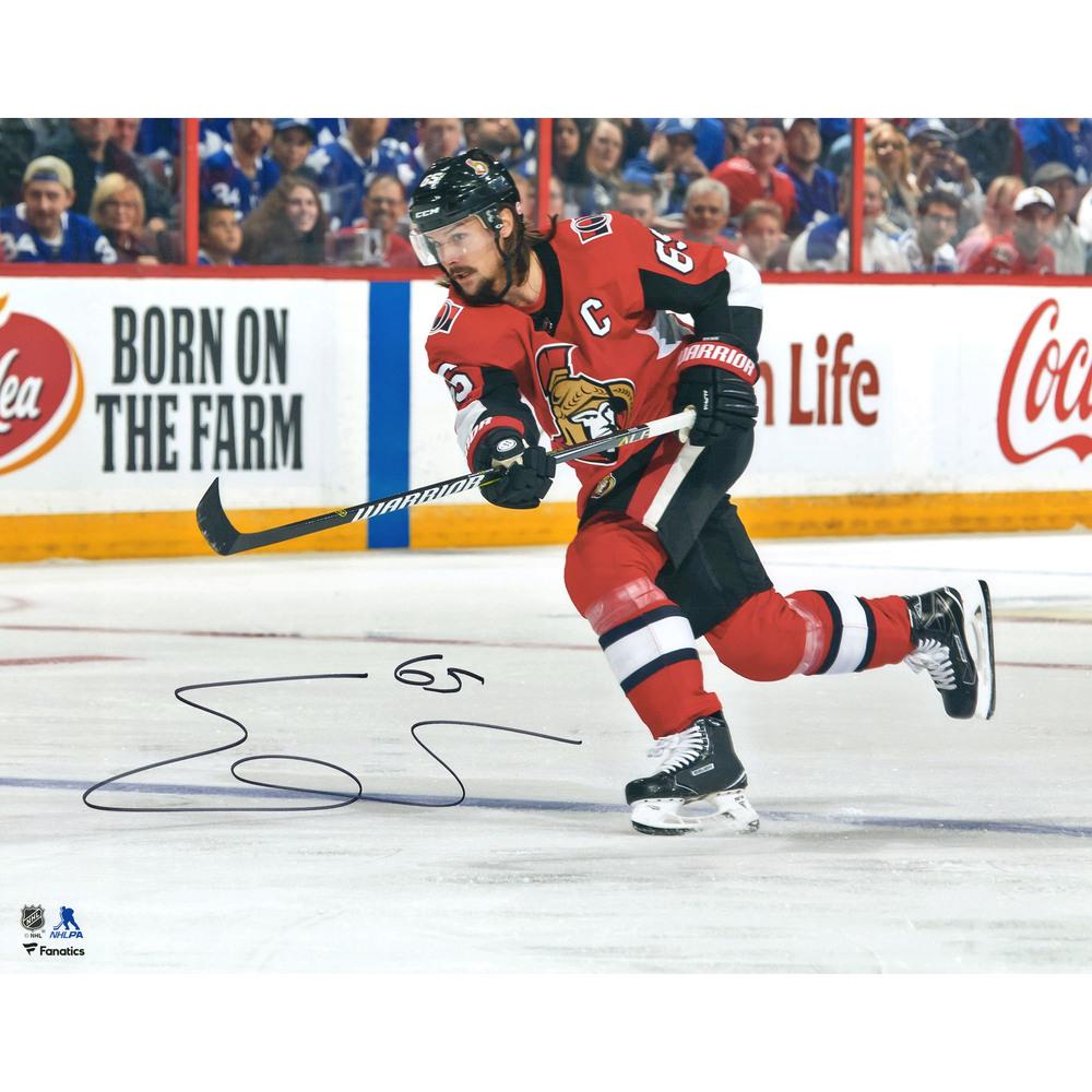 Erik Karlsson Ottawa Senators Autographed 16
