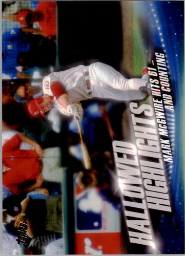 Photo of 2016 Topps Hallowed Highlights #HH6 Mark McGwire