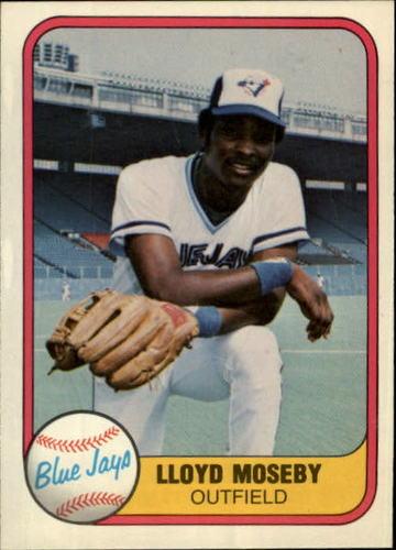 Photo of 1981 Fleer #421 Lloyd Moseby RC