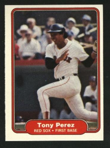 Photo of 1982 Fleer #302 Tony Perez