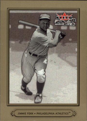 Photo of 2002 Fleer Fall Classics #39 Jimmie Foxx