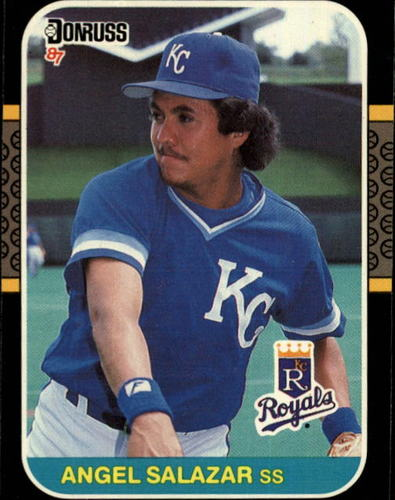 Photo of 1987 Donruss #624 Angel Salazar