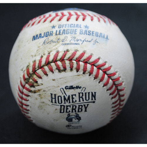 Photo of 2015 All Star Game Home Run Derby (07/13/15) - Game-Used Baseball - Joc Pederson - Round 2, Out