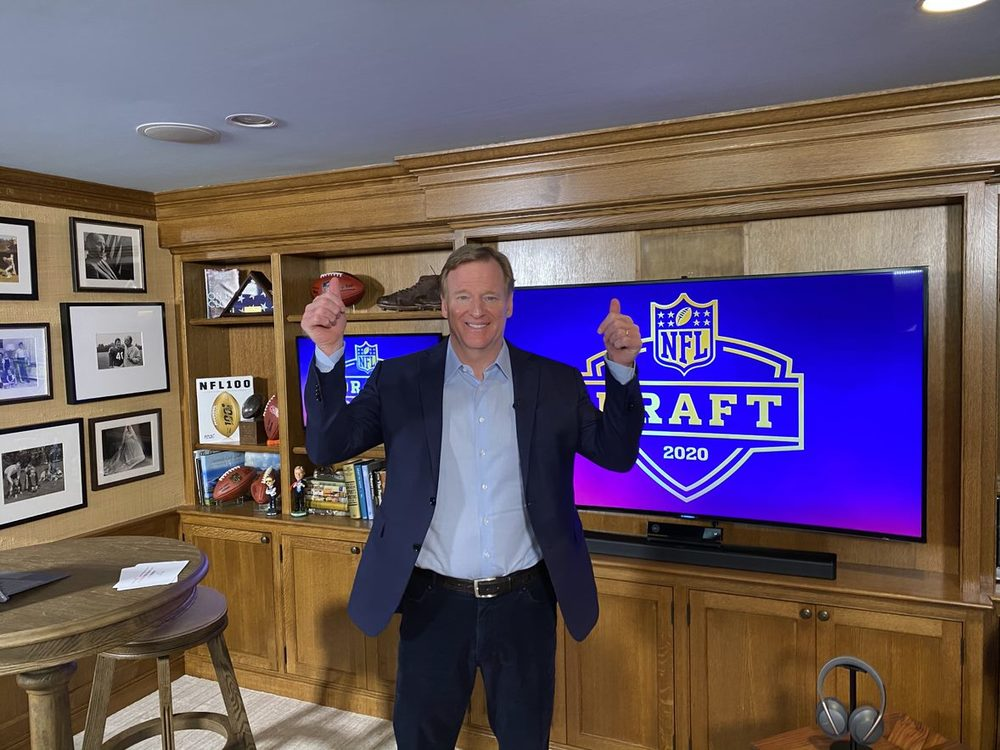 Monday Night Football With the Commissioner in his Fan Cave + 2 tickets to any regular season game