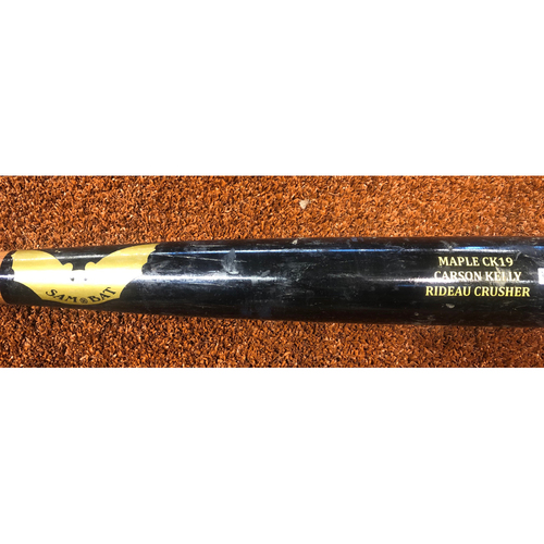 Photo of Carson Kelly Game-Used Broken Bat, 8/20/19 vs. Rockies - Ground Out off Kyle Freeland