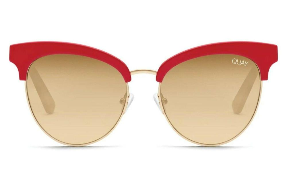 Photo of Quay Australia Cherry Red Sunglasses