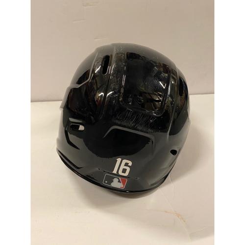 Photo of 2020 Silver Slugger: Travis d'Arnaud Game Used Home Postseason Helmet - 8/21/20, 10/1/20 Wild Card and 10/15/20 NLCS