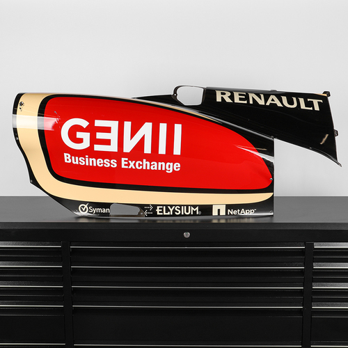 Photo of Lotus F1 Team 2013 E21 Race-used Right-hand Sidepod