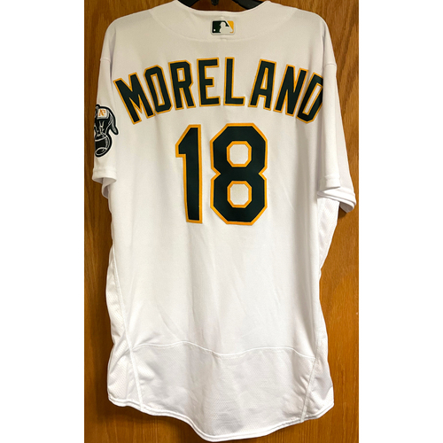 Photo of Game-Used Jersey - Mitch Moreland; HR #1 & 2 (4/20/21)
