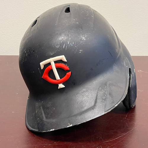 Photo of Minnesota Twins: Game-Used Right Handed Helmet - Miguel Sano - Authenticated for 8 games with a Home Run in Each Game