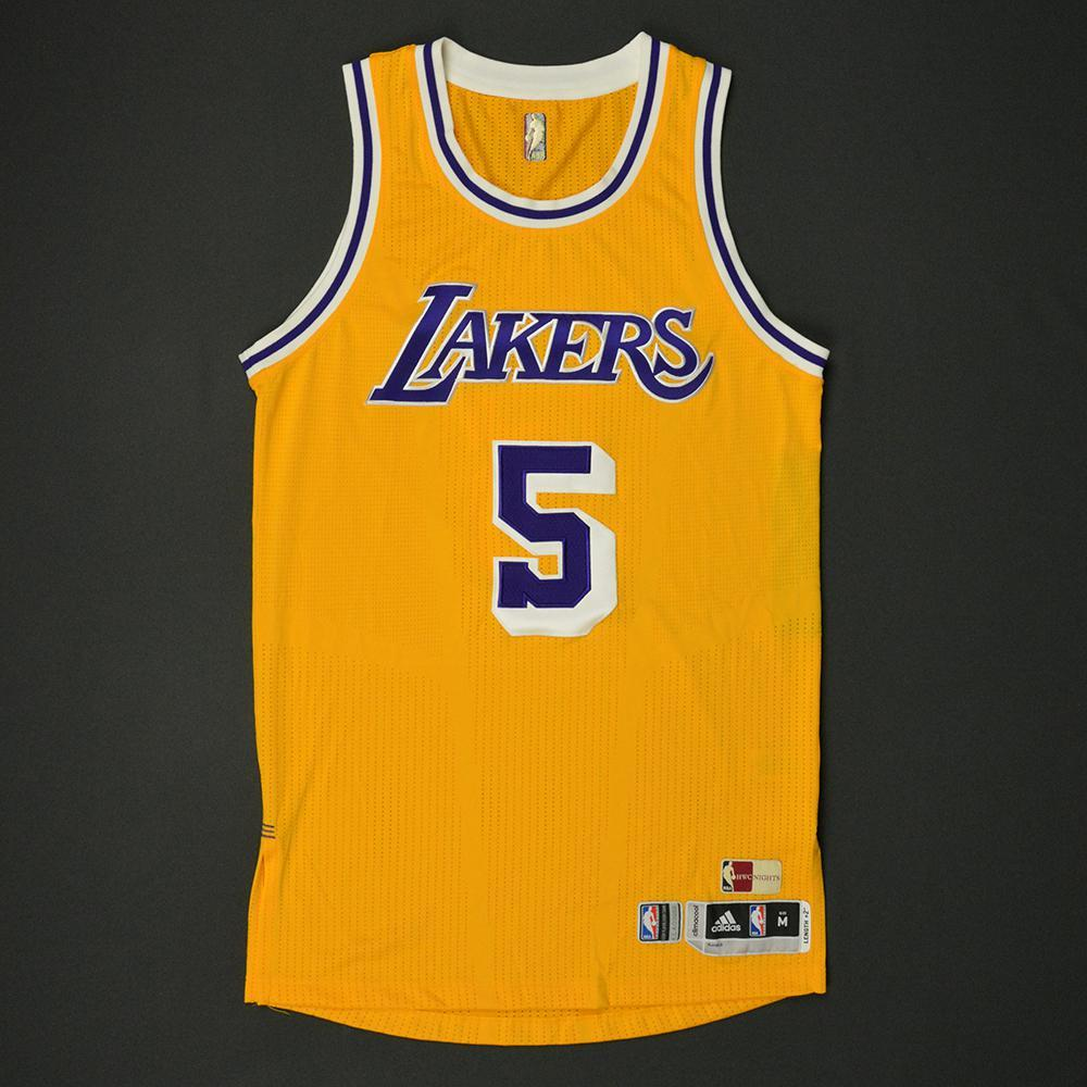69c96deb11c Jose Calderon - Los Angeles Lakers - Game-Worn Hardwood Classics 1987-88  Home