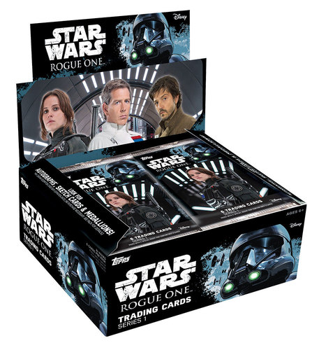 2016 TOPPS STAR WARS ROGUE ONE SERIES 1 - 24-PACK BOX