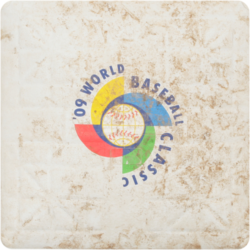 2009 WBC: Round 2 - United States vs. Venezuela Game-Used 3rd Base