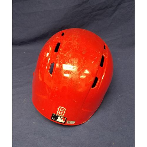 Justin Upton Game-Used Helmet