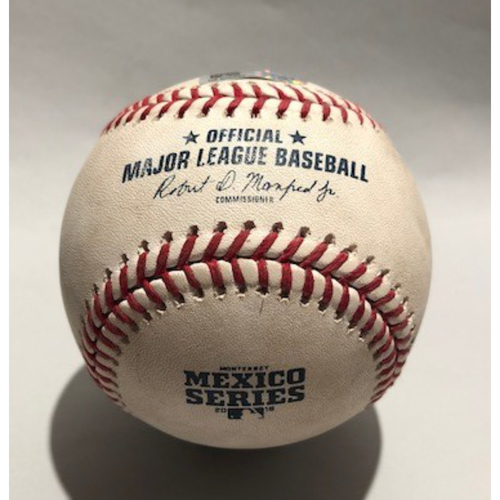 Photo of 2018 Mexico Series - Pitcher - Robbie Erlin, Batter - Max Muncy (Single) - 05/05/18
