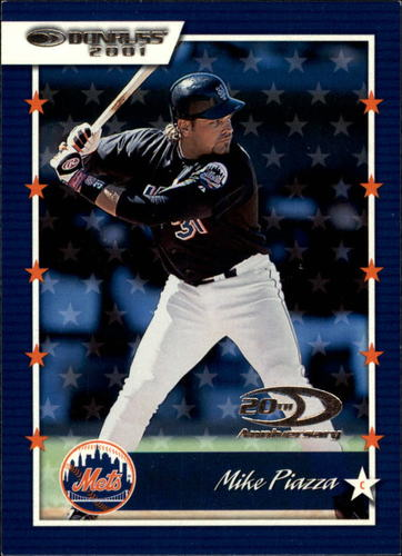 Photo of 2001 Donruss #16 Mike Piazza -- Hall of Fame Class of 2006