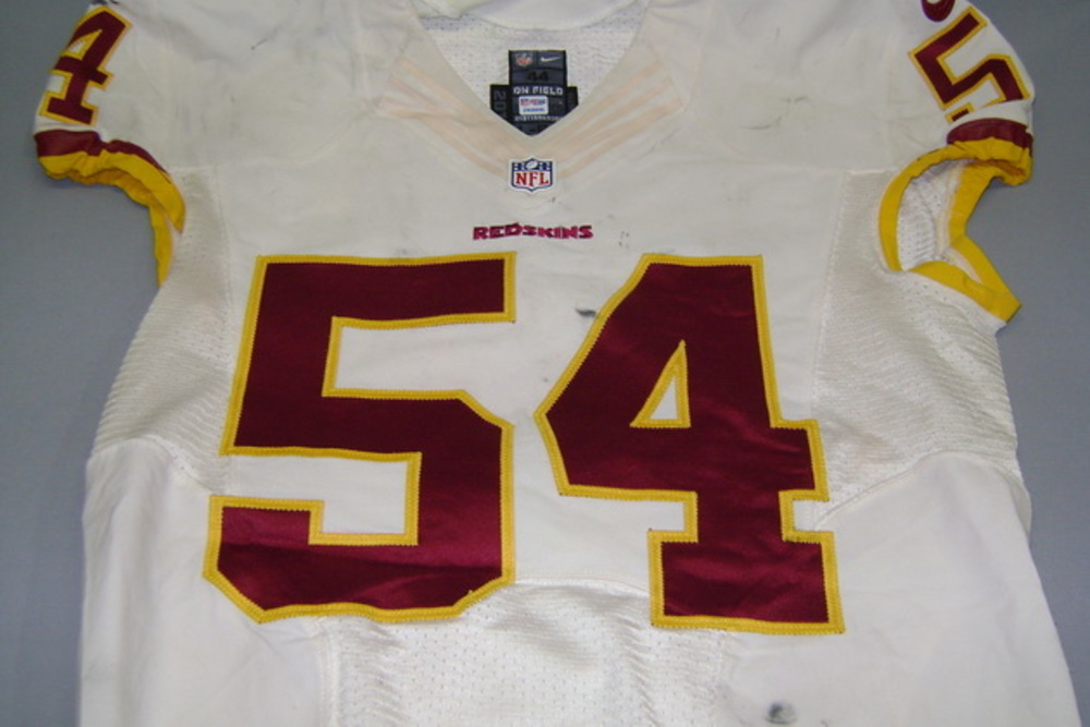 sports shoes 45416 9a7d2 NFL Auction | NFL International Series - Redskins Mason ...