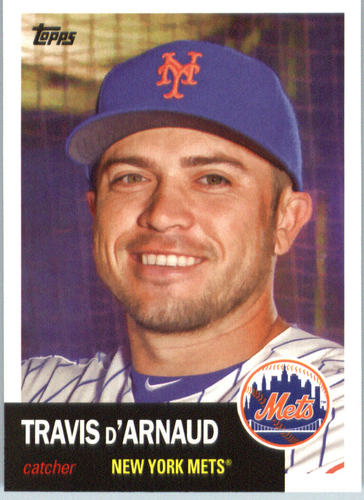 Photo of 2016 Topps Archives #21 Travis d'Arnaud