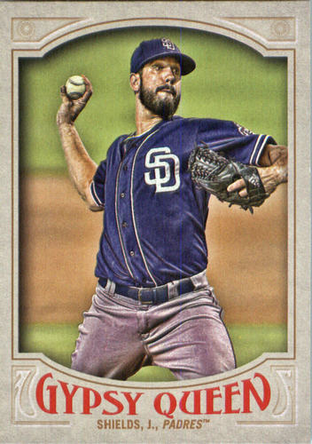 Photo of 2016 Topps Gypsy Queen #178 James Shields