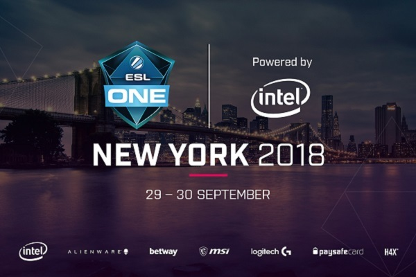 Clickable image to visit 2-Day Passes for ESL One New York Experience
