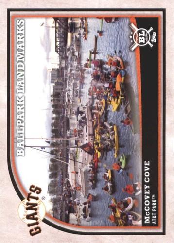 Photo of 2018 Topps Big League #360 McCovey Cove