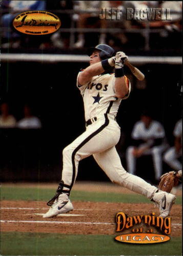 Photo of 1993 Ted Williams #156 Jeff Bagwell/Born with Red Sox Blood