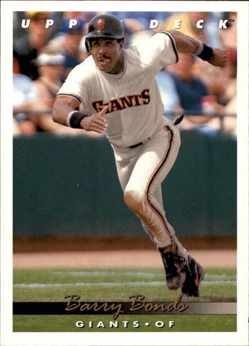 Photo of 1993 Upper Deck #567 Barry Bonds