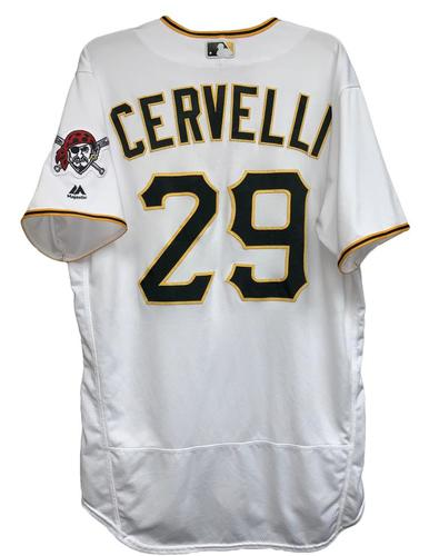 Photo of Francisco Cervelli 2018 Game-Used Jersey