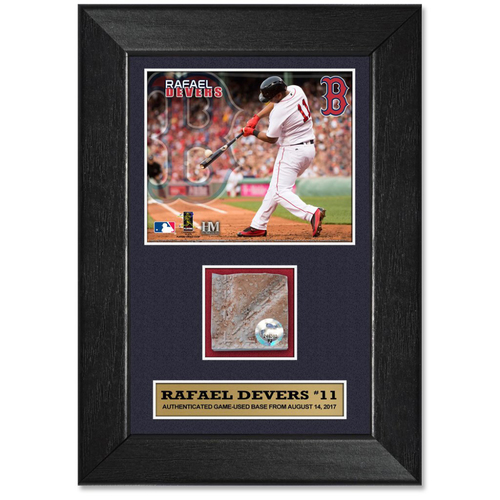 Photo of Rafael Devers Game-Used Base Plaque