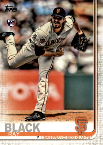 Photo of 2019 Topps #333 Ray Black RC