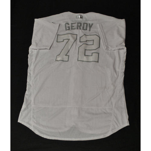 "Photo of Bryan ""GERDY"" Eversgerd St. Louis Cardinals Game-Used 2019 Players' Weekend Jersey"