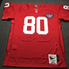 PCC - 49ers Jerry Rice Signed Mitchell and Ness NFL Authentic Jersey Size XL W/ NFL 75th Anniversary Patch