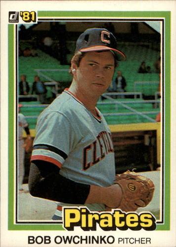 Photo of 1981 Donruss #563A Bob Owchinko P1/Career Highlights:/Traded to