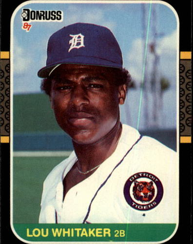 Photo of 1987 Donruss #107 Lou Whitaker