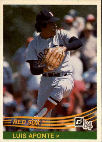 Photo of 1984 Donruss #371 Luis Aponte