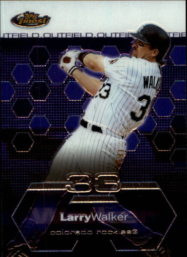 Photo of 2003 Finest #80 Larry Walker