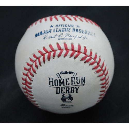 Photo of 2015 Home Run Derby (07/13/2015) - Game-Used Baseball - Prince Fielder - Round 1, Out