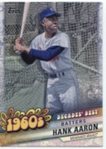 Photo of 2020 Topps Decades' Best Series 2 #DB21 Hank Aaron