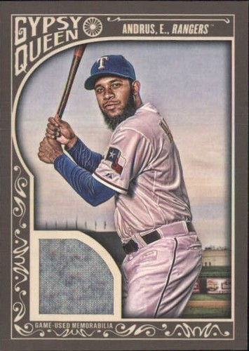 Photo of 2015 Topps Gypsy Queen Relics #GQREA Elvis Andrus