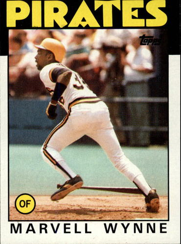 Photo of 1986 Topps #525 Marvell Wynne