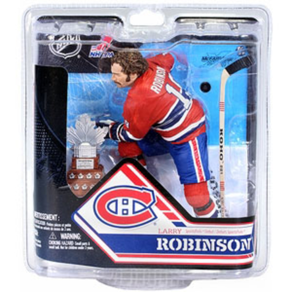 Larry Robinson (Montreal Canadiens) Silver Collector Level McFarlane Figurine