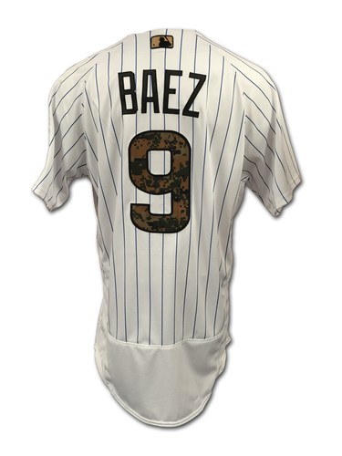 official photos 0fef9 7b874 MLB Auctions | Javier Baez Game-Used Jersey -- Memorial Day ...