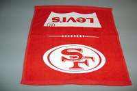 49ERS - RALLY TOWEL WITH 49ERS AND LEVI'S LOGO (14
