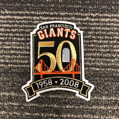 Photo of Team Issued Patch - 50th Anniversary Logo Patch
