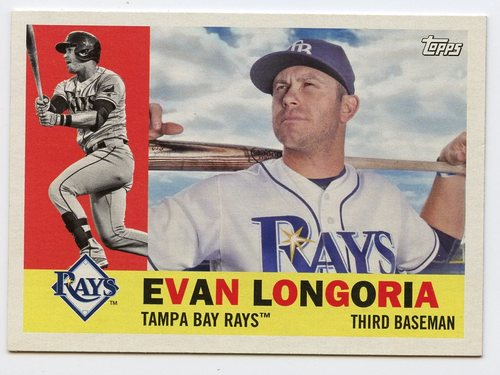Photo of 2017 Topps Archives #28 Evan Longoria